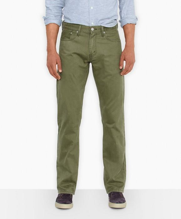 Вид джинсов Straight Fit для мужчин, фото