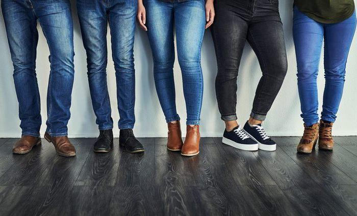Все виды джинсов, фото