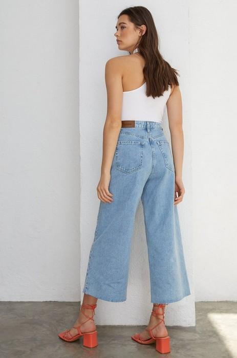 Женские джинсы Кюлоты, фото