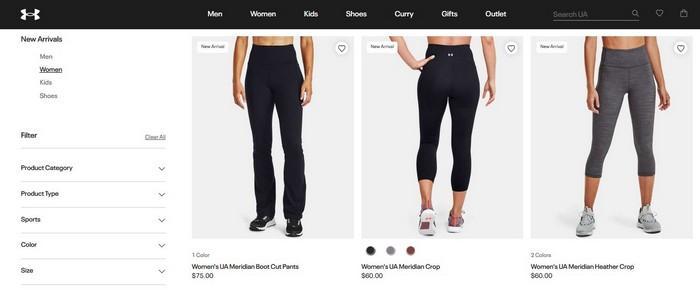 Женские спортивные штаны Under Armour, фото